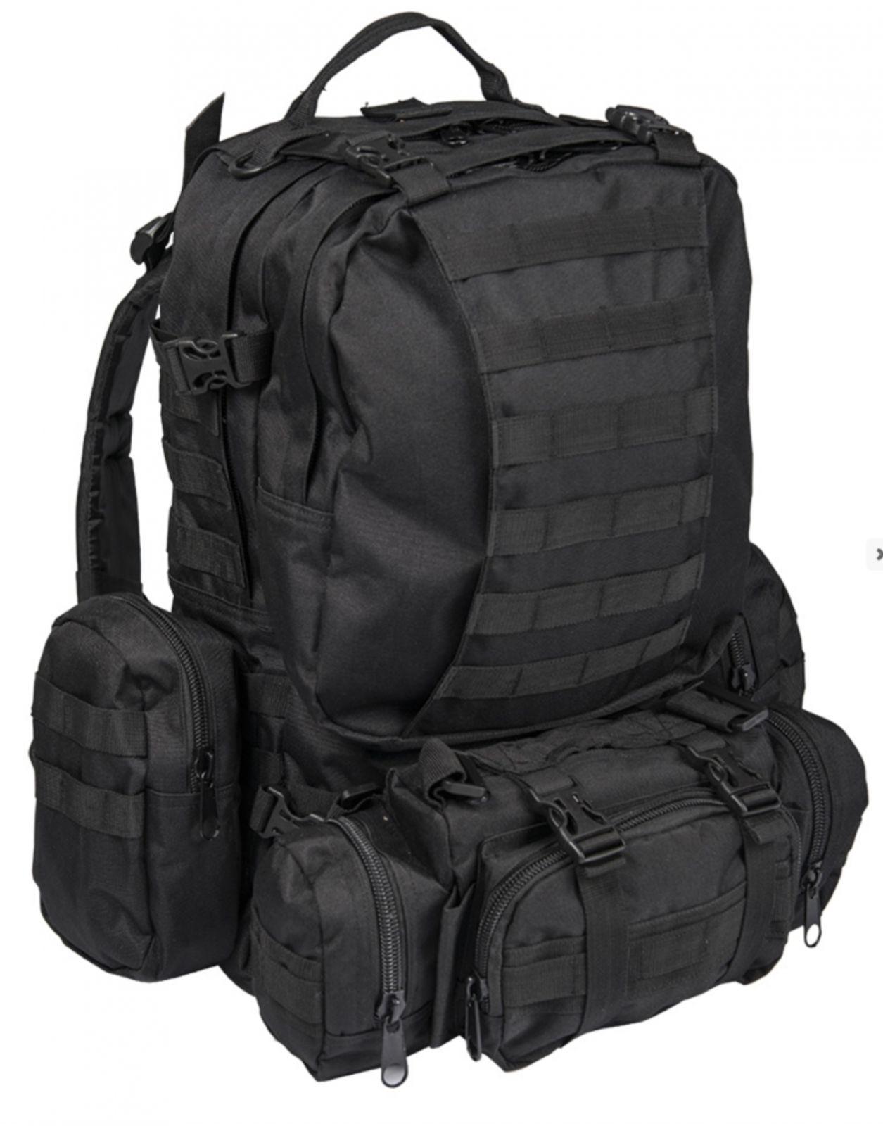 Batoh Defense modular černý