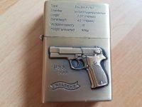 Benzinový zapalovač Walther p88