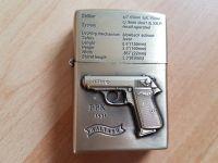 Benzinový zapalovač Walther ppk