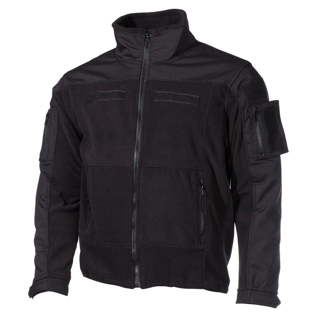 Bunda fleece Combat černá