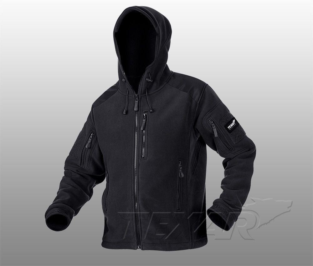Bunda fleece TXR Husky černá