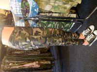 Dámské kalhoty woodland