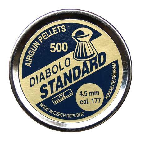 Diabolky Standart 500ks 4,5mm