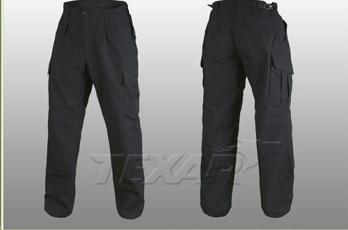 Kalhoty WZ10 černé ripstop