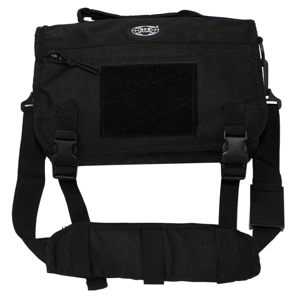 Molle taška přes rameno černá MFH