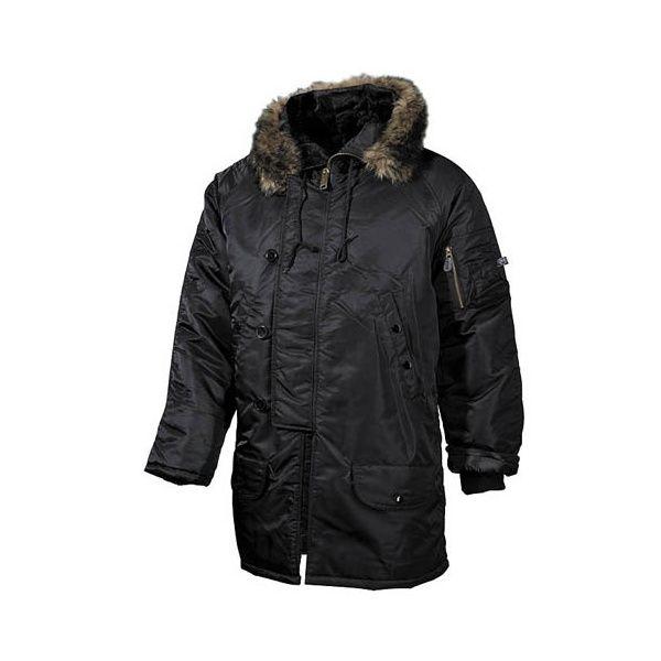 Polar jacket N3B černá MFH