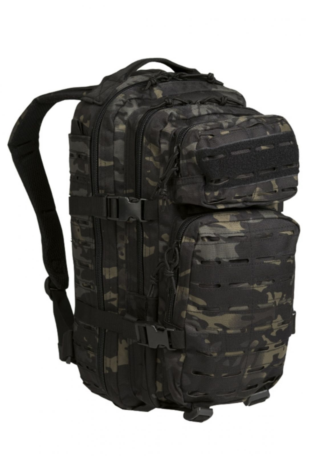 US ASSAULT PACK SM LASER CUT MULTITARN® BLACK