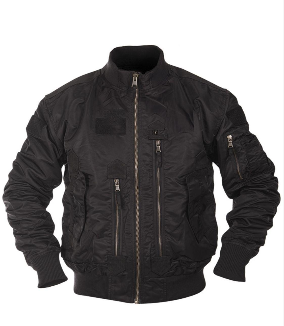US Tactical flieger jacket černá