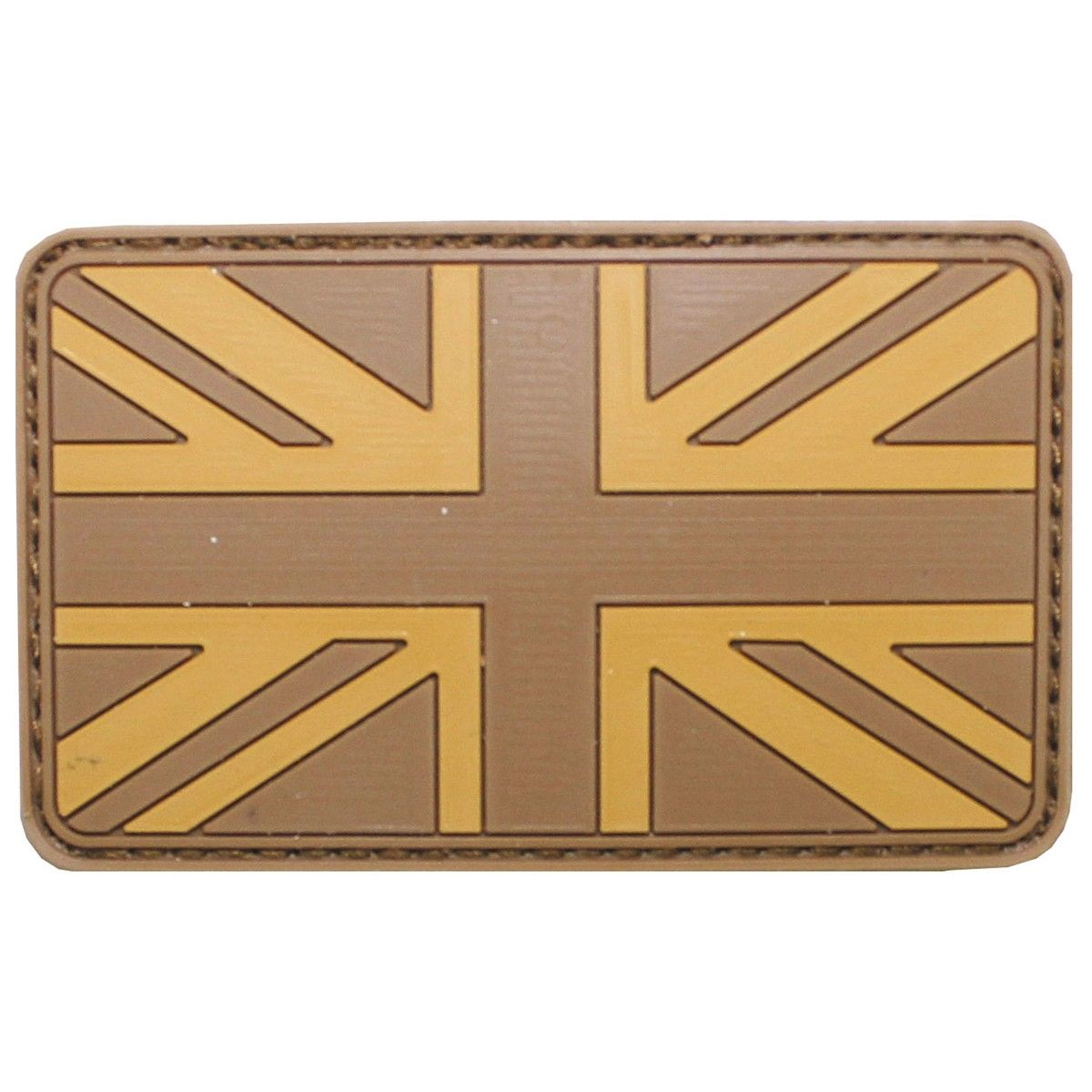 Vlajka velcro Anglie desert
