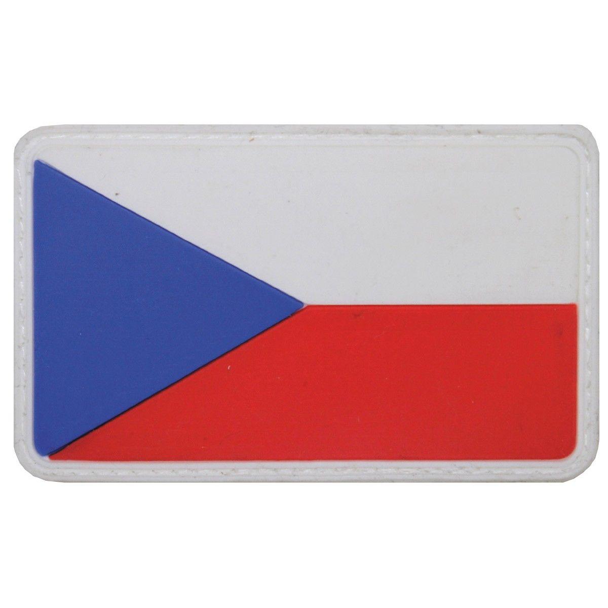Vlajka velcro ČR