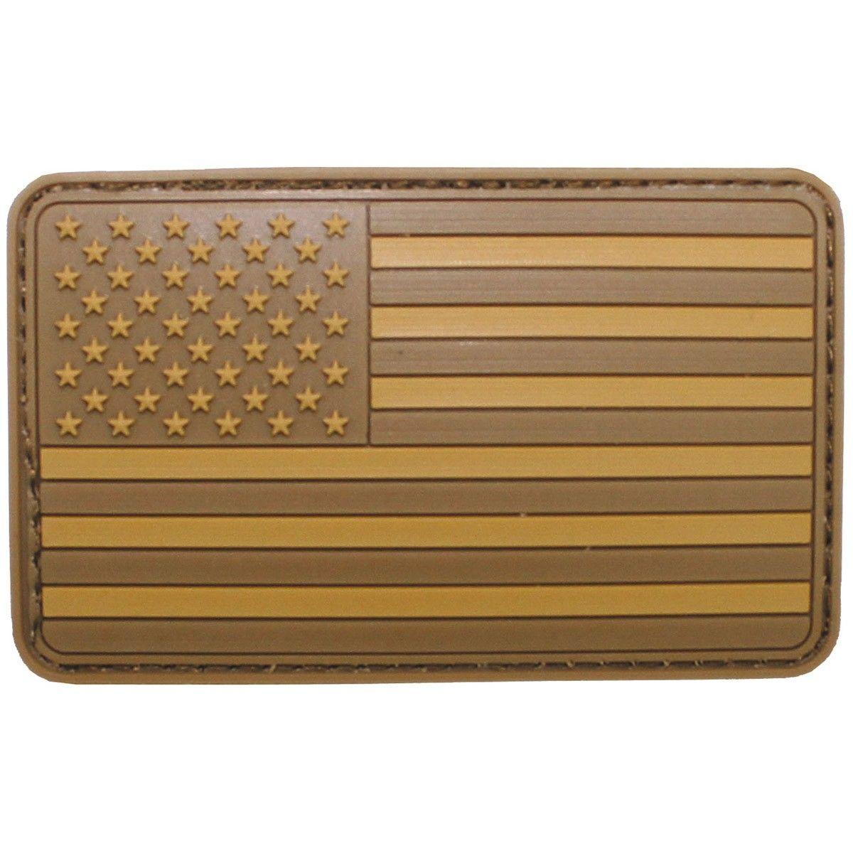 Vlajka velcro US desert