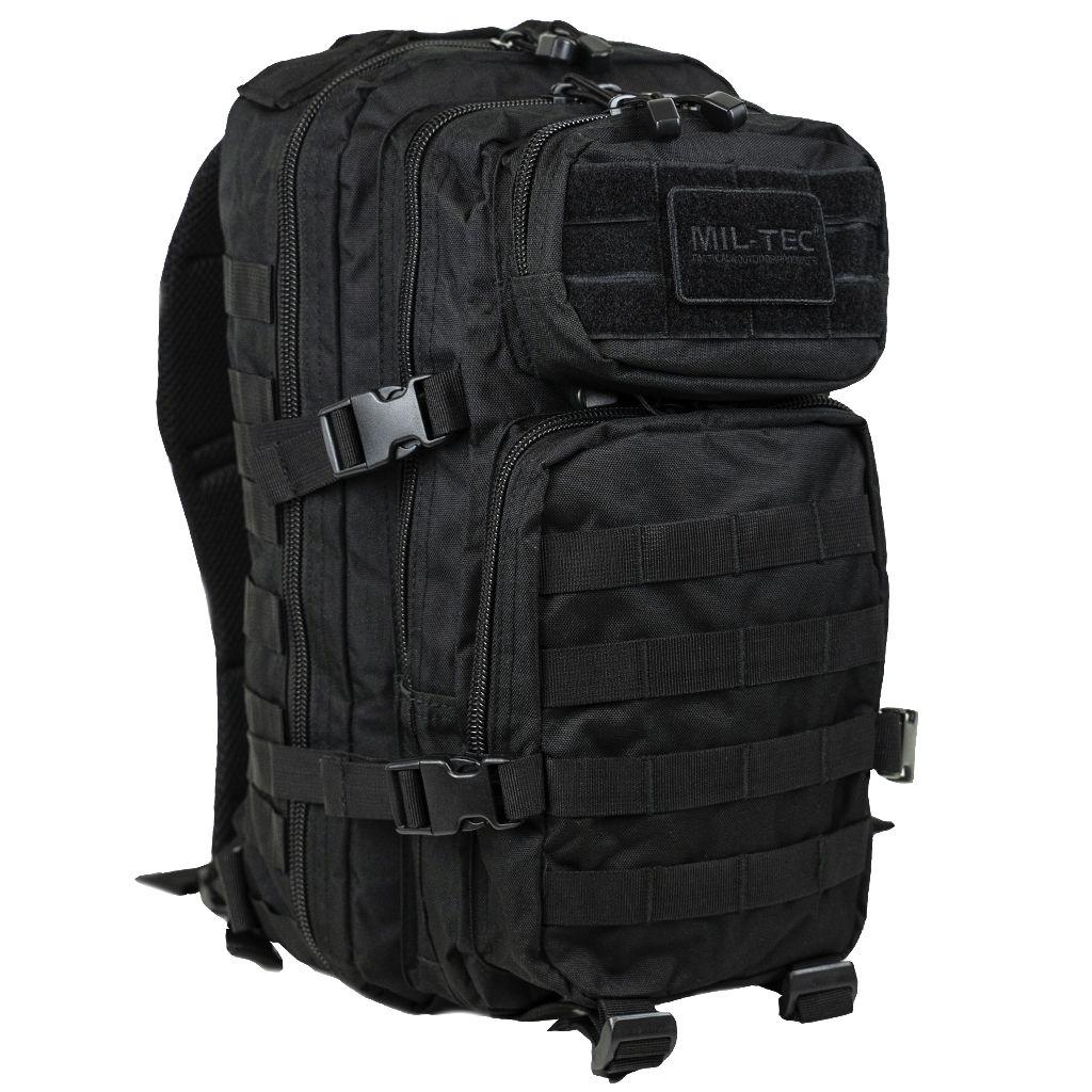 Batoh Assault pack SM černý Miltec