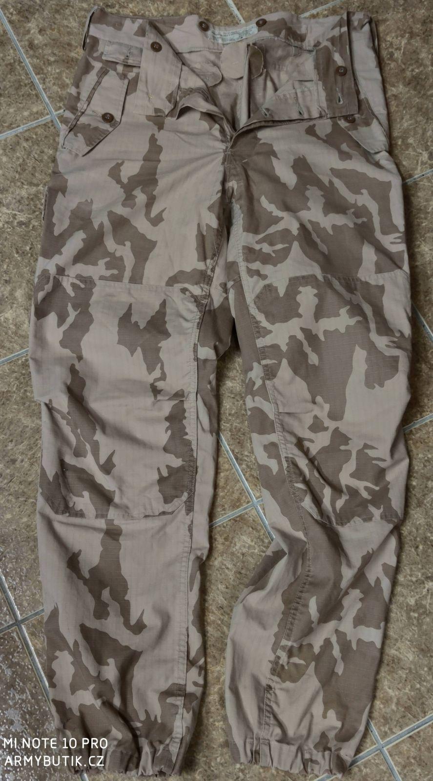 Kalhoty AČR vz 95 pouštní nové orig.