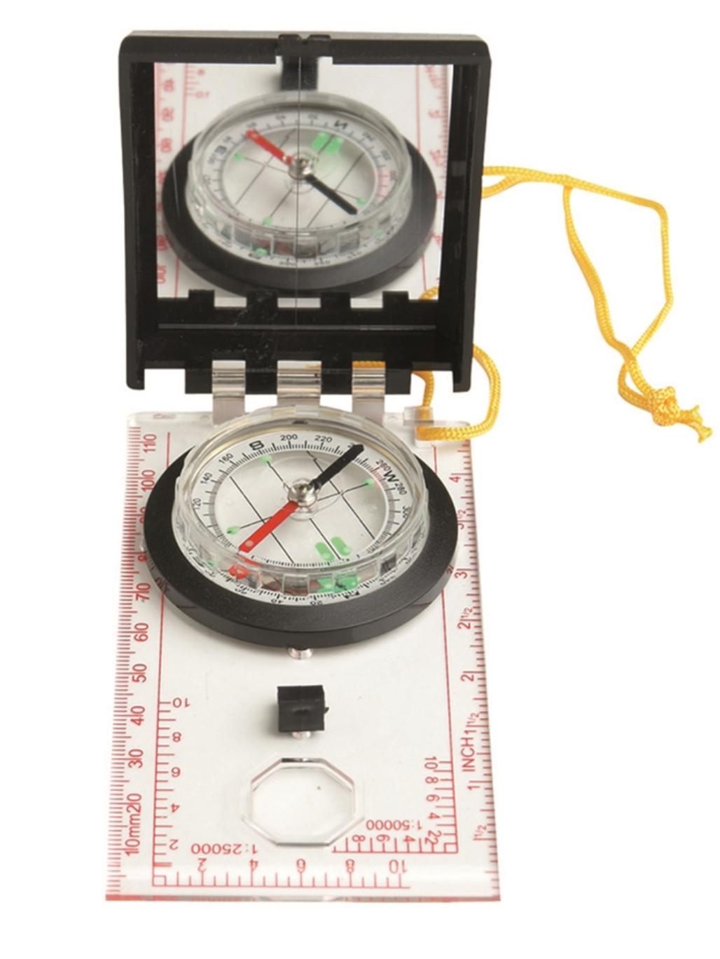Mapový kompas(buzola)